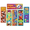 Trend Clever Characters Bookmark Combo Pack - Wild for Books (Furry Friends), I met my Goal! (Furry Friends), Read it! Read it! Read it! (Frog-tastic!), Happy Birthday (Frog-tastic!), Dive into a good