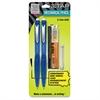 Z TAP Mechanical Pencil - 2HB Lead Degree (Hardness) - 0.7 mm Lead Diameter - Refillable - Black Lead - Blue Barrel - 2 / Each