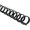 "Swingline ZipBind Spines - 0.63"" Maximum Capacity - 110 x Sheet Capacity - 19 x Rings - Black - 2500 / Pack"