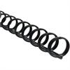 "Swingline ZipBind Spines - 0.63"" Maximum Capacity - 110 x Sheet Capacity - 19 x Rings - Black - 2500 / Pack"