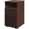 "HON 10500 Series Mobile Pedestal - 15.8"" x 18.9"" x 28"" - 2 x Box Drawer(s), File Drawer(s) - 1 Shelve(s) - Square Edge - Material: Wood - Finish: Laminate, Mahogany"