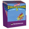 Extra Stretcheroos Book Cover Display - Supports Book - Flexible, Stretchable - Fabric - Assorted - 36