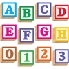 "Trend 3-D Block Style 4"" Letters - Pre-punched, Fade Resistant, Reusable - 4"" Height - Assorted - 96 / Pack"