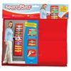 "Educational Insights The Space Place Pocket Chart - 12 Pocket(s) - 55"" Height - Multi - Nylon - 1Each"