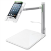 "Belkin Tablet Stage B2B054 Tablet PC Stand - 7"" to 11"" Screen Support - Desktop - Gray"