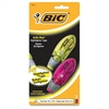 BIC Brite Liner Dispenser Highlighter Tape - Assorted