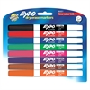 Low-Odor Dry-erase Fine Tip Markers - Fine Point Type - Black, Blue, Turquoise, Aqua, Green, Lime, Pink, Red - 8 / Set