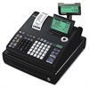 Casio PCR-T500 10-line Display Cash Register - 3000 PLUs - 50 Clerks - 25 Departments - Thermal Printing