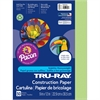 """Tru-Ray Construction Paper - Project - 9"""" x 12"""" - 50 / Pack - Chartreuse - Sulphite"""