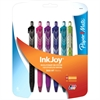 Paper Mate Inkjoy 300 RT Ballpoint Pen - 1 mm Point Size - Assorted - Transparent, Tinted Barrel - 6 / Pack