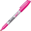 Fine Point Neon Permanent Marker - Fine Point Type - Neon Pink - 1 Each