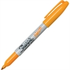 Fine Point Neon Permanent Marker - Fine Point Type - Neon Orange - 1 Each