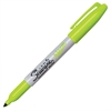 Sharpie Fine Point Neon Permanent Marker - Fine Point Type - Neon Green - 1 Each