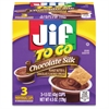 Jif To Go Chocolate Peanut Butter Snack Cups - Chocolate - 1.50 oz - 3 / Pack
