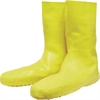 Norcross Safety Servus Disposable Yellow Latex Booties - XX-Large Size - 12 Boot Size - Yellow - 1 / Pair