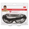Tekk Protection Chemical Splash/Impact Goggles - Particulate, Chemical, Liquid, Fog Protection - Polycarbonate Lens - Clear - 1 / Pack