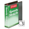 "Speedy XtraLife Slant-D Ring Binder - 2"" Binder Capacity - Letter - 8 1/2"" x 11"" Sheet Size - D-Ring Fastener - 2 Pocket(s) - Polyolefin-covered Chipboard - Black - 1 Each"