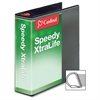 "Cardinal Speedy XtraLife Slant-D Ring Binder - 3"" Binder Capacity - Letter - 8 1/2"" x 11"" Sheet Size - D-Ring Fastener - 2 Pocket(s) - Polyolefin-covered Chipboard - White - 1 Each"