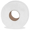 "Genuine Joe 2-ply Jumbo Roll Dispnsr Bath Tissue - 2 Ply - 3.25"" x 1000 ft - 9"" Roll Diameter - White - Nonperforated, Unscented - 12 / Carton"