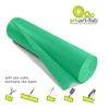 "Smart-Fab Disposable Fabric Rolls - Project, Bulletin Board, Banner, Art, Craft, Decoration - 36"" x 600 ft - 1 / Roll - Grass Green - Fabric"