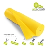 "Smart-Fab Disposable Fabric Rolls - Project, Bulletin Board, Banner, Art, Craft, Decoration - 36"" x 600 ft - 1 / Roll - Yellow - Fabric"