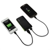 Leitz Mobile Device Battery Pack - For USB Device, Mobile Phone, Tablet PC - 5000 mAh - 2 x - Black