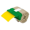 "System 39' Drop-in Label Cartridges - Permanent Adhesive - ""3.50"" Width x 32.81 ft Length - Yellow - Plastic - 1 Each"