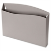"Cubicle Wall File Pocket 73516, Gray, Letter Size - 300 x Sheet - 12.5"" Width x 1.4"" Depth - Wall Mountable - Gray - 1Each"