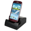 Victor Smart Charge Micro USB Lightning Dock - Docking - Smartphone, Tablet PC - Charging Capability - Matte Black
