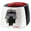 Evolis Badgy100 Plastic ID Card Solution - 40 Card Feeder, 40 Card Output Hopper - 16 Second Mono - 45 Second Color - 300 dpi - 16 MB - USB - PVC Card, Plastic Card