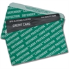 Quality Park RFID Blocking Credit Card Sleeves - Green - Card Stock