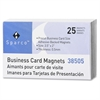 38505 Business Card Magnets - Rectangle - Adhesive - 25 / Pack