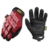 Mechanix Wear Gloves - 11 Size Number - X-Large Size - Spandex, Thermoplastic Rubber (TPR) Closure, Synthetic Leather, Lycra - Red, Black - Breathable, Durable, Comfortable, Hook & Loop Closure, Machi