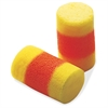 E-A-R Classic Uncorded Earplugs - Regular Size - Noise Protection - Foam, Polyvinyl Chloride (PVC) - Yellow, Red - 200 / Box
