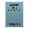"Anglers Heavy Crystal Clear Poly Envelopes - Document - 2.25"" Width x 3.50"" Length - Polypropylene - 50 / Pack - Crystal Clear"