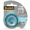 "Scotch Expressions Matte Finish Magic Tape - 0.75"" Width x 25 ft Length - 1"" Core - Removable, Repositionable, Writable Surface - Dispenser Included - Handheld Dispenser - 1 / Roll - Matte Light Blue"