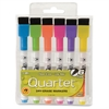 Quartet® ReWritables® Mini Dry-Erase Markers, Magnetic, Assorted Vivid Colors, 6 Pack - Ultra Fine Point Type - Yellow, Bright Purple, Lime Green, Orange, Cyan, Magenta - 6 / Set