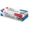 "SKILCRAFT Standard Staples - 210 Per Strip - Standard - 5mm - 1/4"" Leg - 1/2"" Crown - for Paper - Chisel Point, Rust Resistant - Silver - Steel - 5000 / Box"