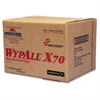 SKILCRAFT WypAll X70 Industrial Wipers - Wipe - 174 / Carton - White