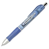 SKILCRAFT Retractable Rollerball Pen - 0.5 mm Point Size - Needle Point Style - Blue - Blue Barrel - 1 Each