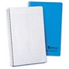 "Ampad Oxford College Rule Recycled Wirebound Notebook - 80 Sheets - Wire Bound 6"" x 9.50"" - Blue Cover - 1Each"