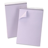 "Ampad Gregg-ruled Orchid Cover Steno Book - 80 Sheets - Printed - Wire Bound - Front Ruling Surface - 20 lb Basis Weight 6"" x 9"" - Orchid Paper - Orchid Cover - 1Each"
