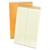 "Ampad Greentint Steno Notebook - 80 Sheets - Printed - Wire Bound - 15 lb Basis Weight - 6"" x 9"" - Green Tint Paper - 1Each"