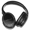 Compucessory Bluetooth Headphone w/ Microphone - Stereo - Black, Silver - Wireless - Bluetooth - Over-the-head - Binaural - Circumaural