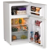 Avanti Model RA3106WT - 3.1 CF Two Door Counterhigh Refrigerator - White - 3.10 ft³ - Auto-defrost - Reversible - 2.20 ft³ Net Refrigerator Capacity - 0.90 ft³ Net Freezer Capacity - 229 kWh per Year