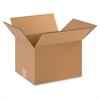 "Industrial Shipping Boxes - External Dimensions: 10"" Width x 8"" Depth x 12"" Height - 200 lb - Corrugated - Kraft - 25 / Pack"