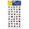 ChenilleKraft Geometric Gemstone Stickers Pack - (Geometric) Shape - Assorted - 270 / Set