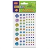 ChenilleKraft Peel/Stick Flower-shaped Gemstones - Learning, Fun Theme/Subject - Bright Flowers - Easy Peel - Assorted - 486 / Set