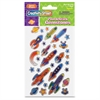 Peel & Stick Gemstones - Space Shapes - 29 Pcs - Learning, Fun Theme/Subject - Space Shapes - Easy Peel - Assorted - 174 / Set