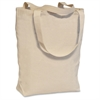 "Carrying Case for Books, Electronic Equipment, Accessories - White - Canvas - Shoulder Strap - 17"" Height x 16.5"" Width x 5"" Depth"